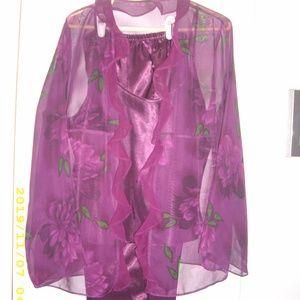 Intimate apparel - wine color
